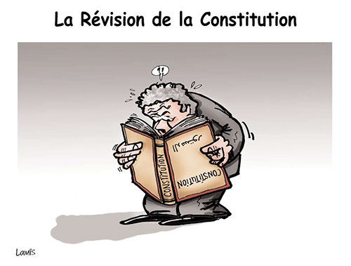 Le révision de la constitution - Lounis Le jour d'Algérie - Gagdz.com