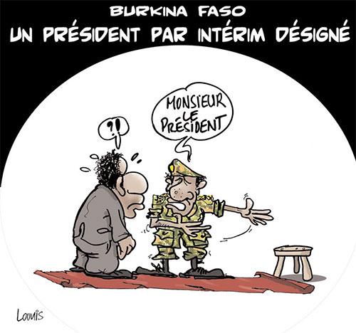 Burkina Faso: Un président par intérim désigné - Burkina - Gagdz.com
