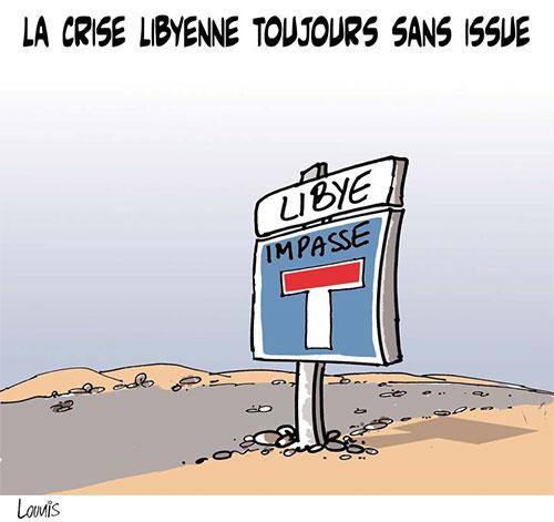 La crise libyenne toujours sans issue - Lounis Le jour d'Algérie - Gagdz.com