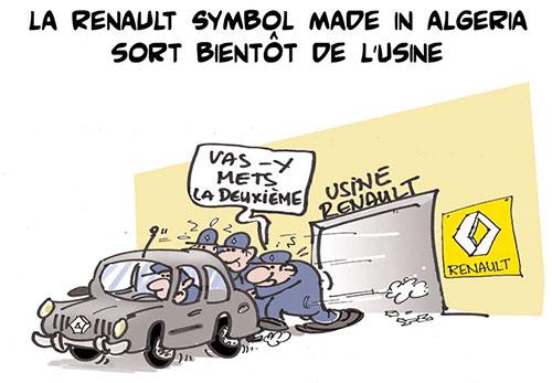 La renault symbol made in Algeria sort bientôt de l'usine - renault - Gagdz.com