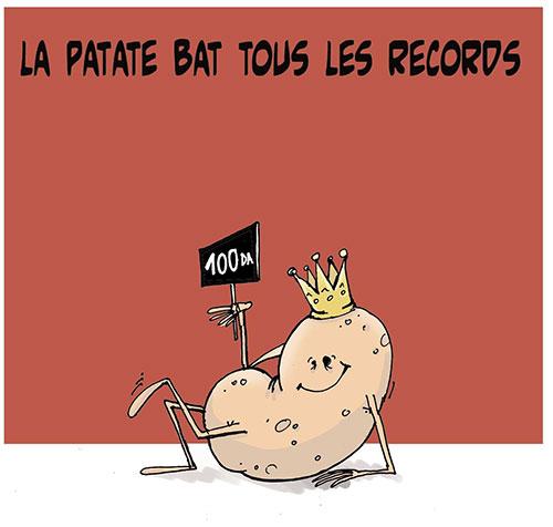 La patate bat tous les records - Lounis Le jour d'Algérie - Gagdz.com
