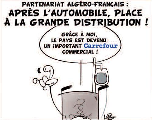 Partenariat algéro-français: Après l'automobile, place à la grande distribution - Vitamine - Le Soir d'Algérie - Gagdz.com