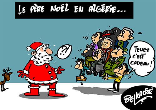 Le père noël en Algérie - Belkacem - Le Courrier d'Algérie - Gagdz.com