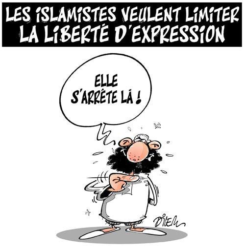 Les islamistes veulent limiter la liberté d'expression - Dilem - Liberté - Gagdz.com