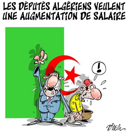 Les députés algériens veulent une augmentation de salaire - Dilem - Liberté - Gagdz.com