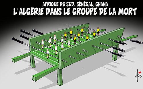 Afrique du sud, Sénégal, Ghana: L'Algérie dans le groupe de la mort - Le Hic - El Watan - Gagdz.com