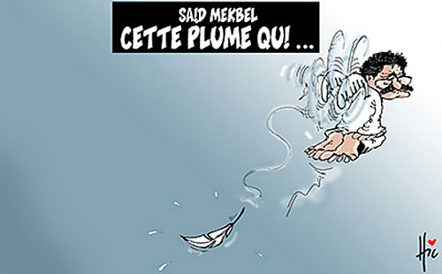 Said Mekbel: Cette plume qui... - tagasupprimer - Gagdz.com