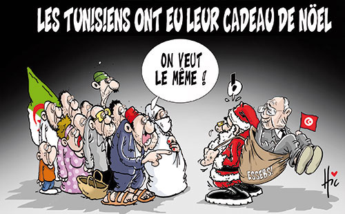 Les Tunisiens ont eu leur cadeau de noël - Le Hic - El Watan - Gagdz.com
