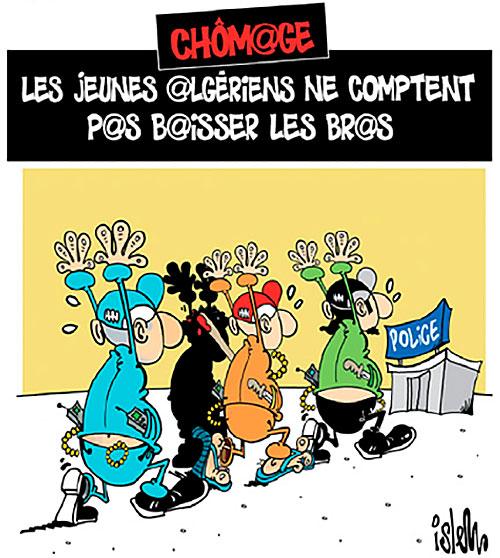 Chômage: Les jeunes algériens ne comptent pas baisser les bras - Islem - Le Temps d'Algérie - Gagdz.com