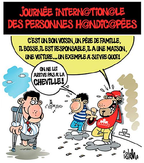 Journée internationale des personnes handicapées - Islem - Le Temps d'Algérie - Gagdz.com