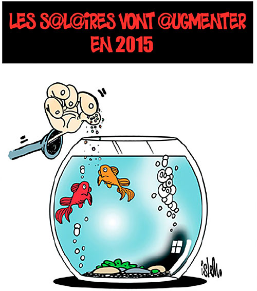 Les salaires vont augmenter en 2015 - Islem - Le Temps d'Algérie - Gagdz.com