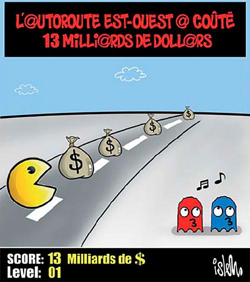 L'autoroute est-ouest a couté 13 milliards de dollars - Islem - Le Temps d'Algérie - Gagdz.com