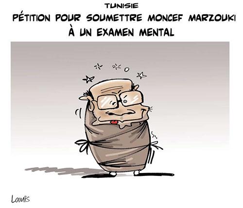 Tunisie: Pétition pour soumettre Moncef Marzouki à un examen mental - Lounis Le jour d'Algérie - Gagdz.com