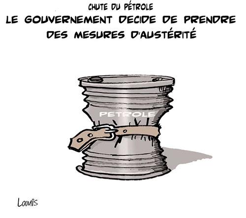 Chute du pétrole: Le gouvernement décide de prendre des mesures d'austérité - Lounis Le jour d'Algérie - Gagdz.com