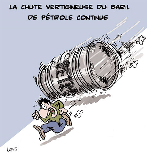 La chute vertigineuse du baril de pétrole continue - baril - Gagdz.com