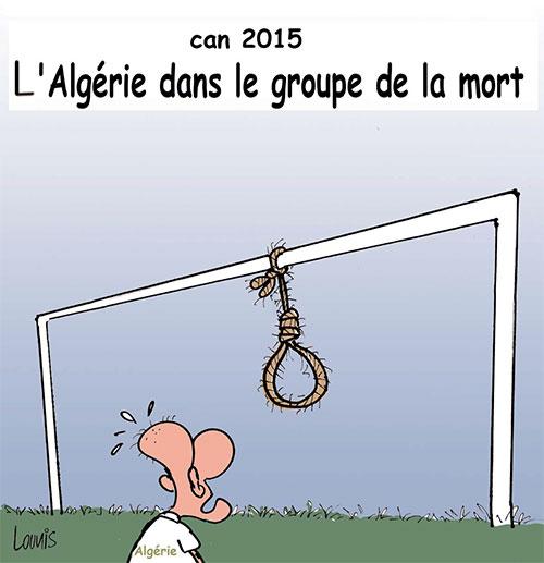 Can 2015: L'Algérie dans le groupe de la mort - Lounis Le jour d'Algérie - Gagdz.com