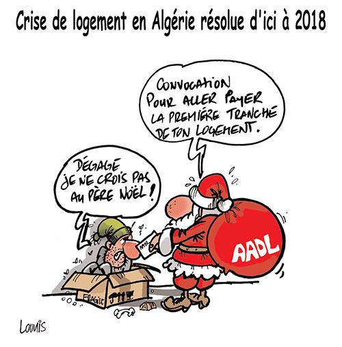 Crise de logement en Algérie résolue d'ici à 2018 - Lounis Le jour d'Algérie - Gagdz.com