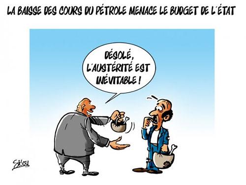 La baisse des cours du pétrole menace le budget de l'état - Sidou - Gagdz.com