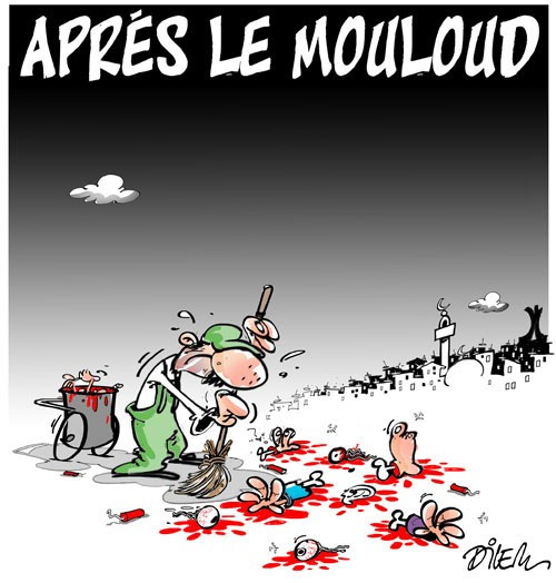 Après le mouloud - Dilem - Liberté - Gagdz.com