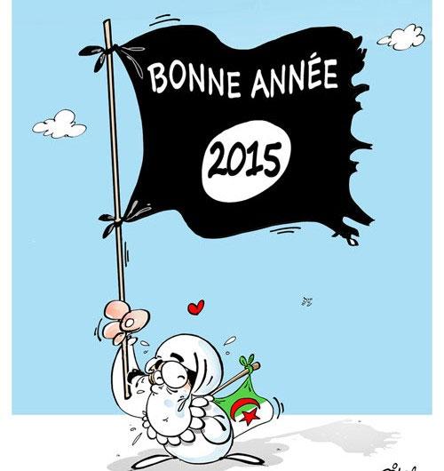 Bonne année 2015 - Dilem - Liberté - Gagdz.com