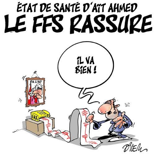 Etat de santé d'Aït Ahmed: Le FFS rassure - Dilem - Liberté - Gagdz.com