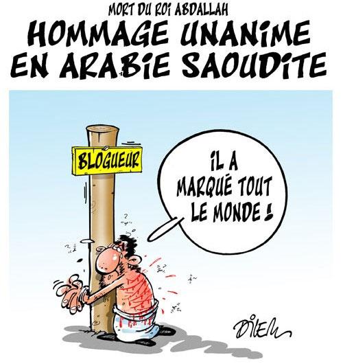 Mort du roi Abdallah: Hommage unanime en Arabie Soudite - Dilem - Liberté - Gagdz.com