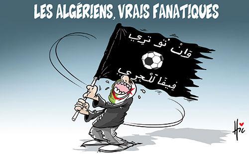 Les Algériens, vrais fanatiques - Le Hic - El Watan - Gagdz.com