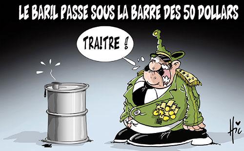 Le baril passe sous la barre des 50 dollars - Le Hic - El Watan - Gagdz.com