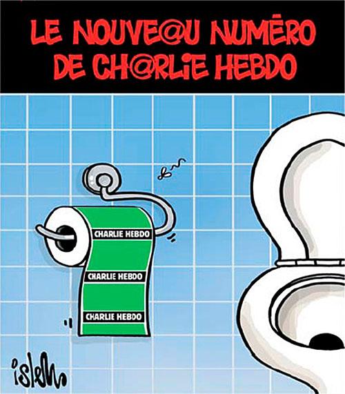 Le nouveau numéro de Charlie Hebdo - Islem - Le Temps d'Algérie - Gagdz.com