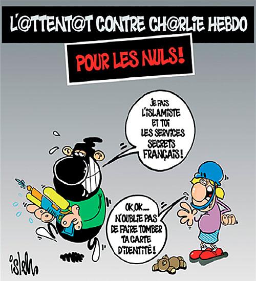 L'attentat contre Charlie hebdo pour les nuls! - Islem - Le Temps d'Algérie - Gagdz.com