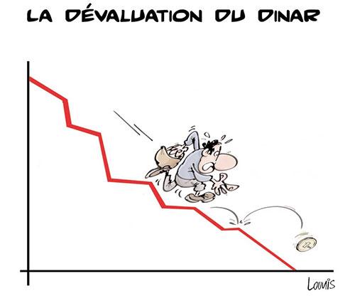 La dévaluation du dinar - dévaluation - Gagdz.com