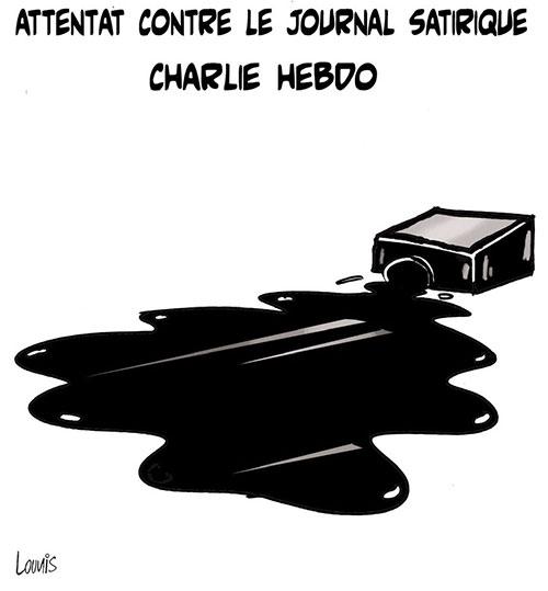 Attentat contre le journal satirique Charlie hebdo - Lounis Le jour d'Algérie - Gagdz.com