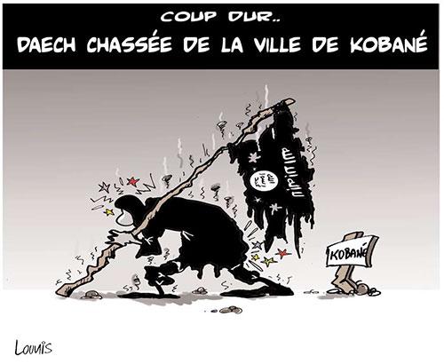 Coup dur: Daech chassé de la ville de Kobané - Lounis Le jour d'Algérie - Gagdz.com