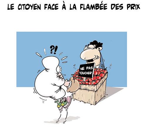 Le citoyen face à la flambée des prix - Lounis Le jour d'Algérie - Gagdz.com