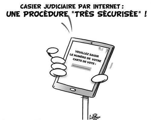 Casier judiciaire par internet: Une procédure très sécurisée - Vitamine - Le Soir d'Algérie - Gagdz.com