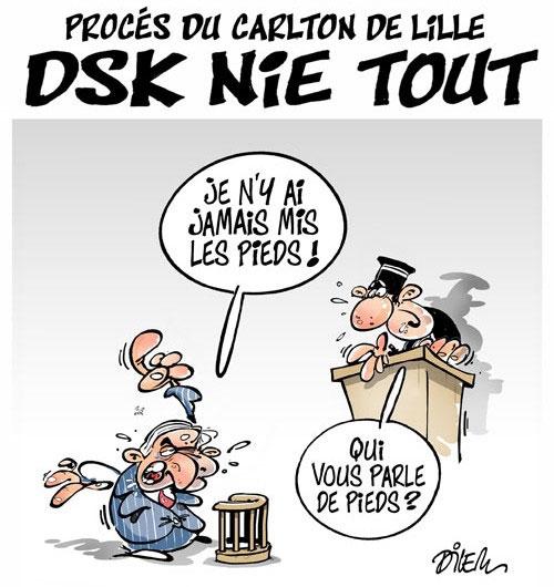 Procés du Carlton de Lille: DSK nie tout - Dilem - Liberté - Gagdz.com