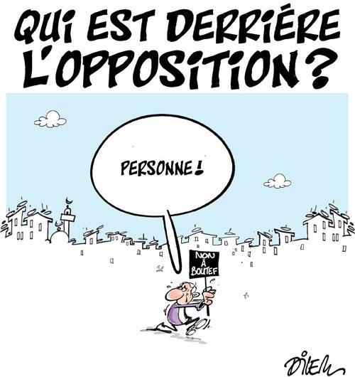 Qui est derrière l'opposition ? - Dilem - Liberté - Gagdz.com