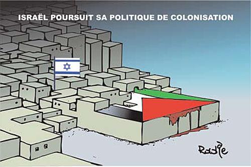 Israël poursuit sa politique de colonisation - politique - Gagdz.com