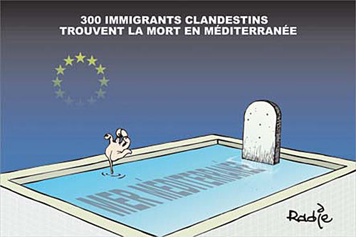 300 immigrants clandestins trouvent la mort en méditerranée - clandestins - Gagdz.com