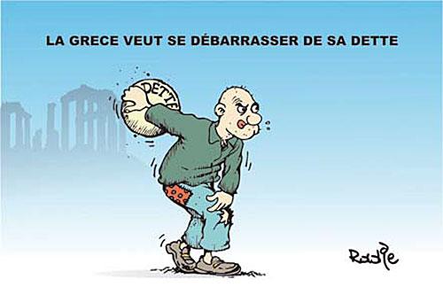 La Grece veut se débarasser de sa dette - grèce - Gagdz.com