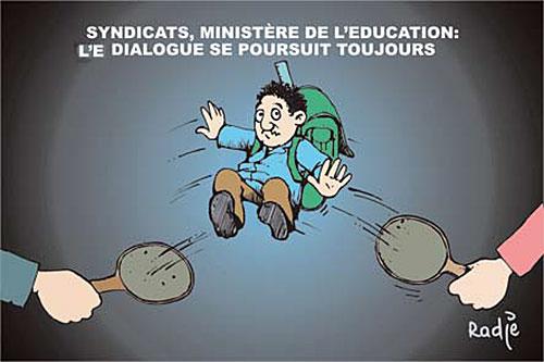 Syndicats, ministère de l'éducation: Le dialogue se poursuit toujours - Ghir Hak - Les Débats - Gagdz.com