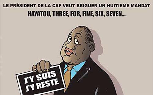 Le président de la CAF veut briguer un huitième mandat: Hayatou, three,for,five,six,seven - Ghir Hak - Les Débats - Gagdz.com