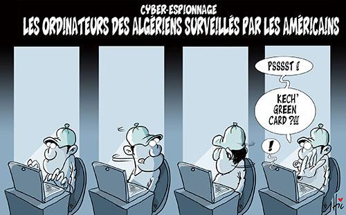 Cyber-espionnage: Les ordinateurs des algériens surveillés par les américains - Le Hic - El Watan - Gagdz.com