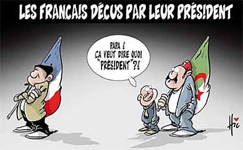 Les Français déçus par leur président - Le Hic - El Watan - Gagdz.com