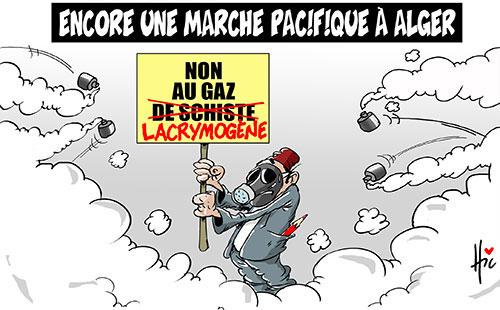 Encore une marche pacifique à Alger - Le Hic - El Watan - Gagdz.com