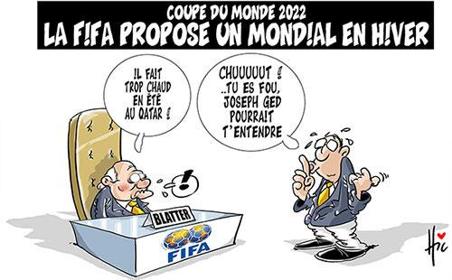 Coupe du monde 2022: La FIFA propose un mondial en hiver - Le Hic - El Watan - Gagdz.com