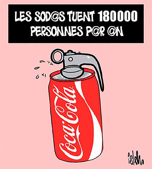 Les sodas tuent 180 000 personnes par an - Islem - Le Temps d'Algérie - Gagdz.com