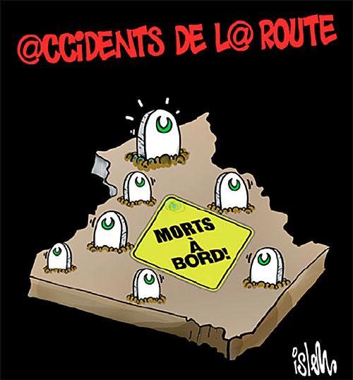 Accidents de la route - route - Gagdz.com