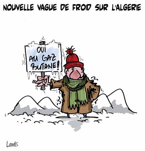 Nouvelle vague de froid sue l'Algérie - Lounis Le jour d'Algérie - Gagdz.com