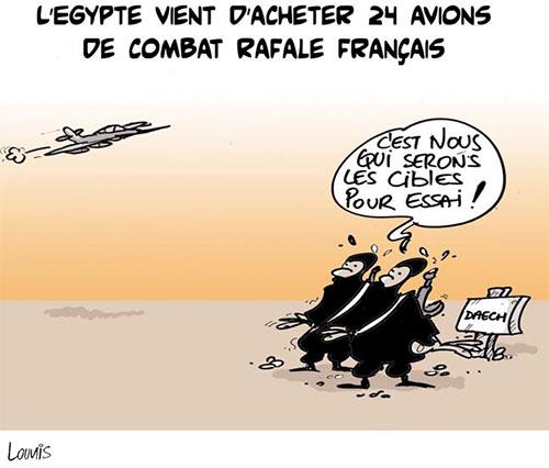 l'Egypte vient d'acheter 24 avions de combat rafale français - Lounis Le jour d'Algérie - Gagdz.com